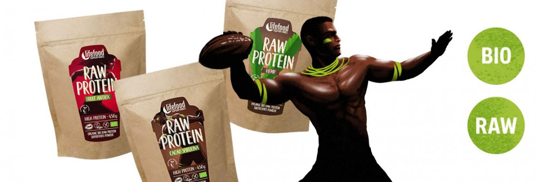 Raw proteiny