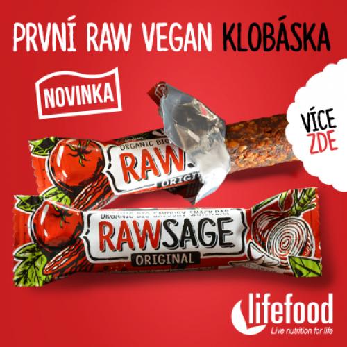 Rawsage je skvělá raw veganská klobáska