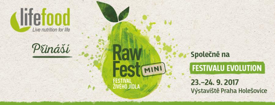 Lifefood představí na Rawfestu novinky, přijďte si zdravě zamlsat