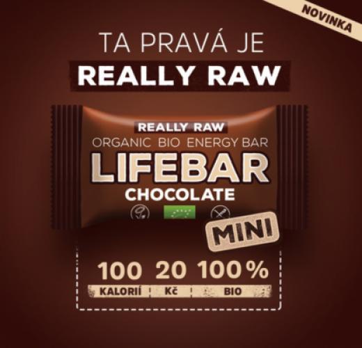 Novinka: MINI Lifebary – skvělá cena, super velikost a pouhých 100 kcal