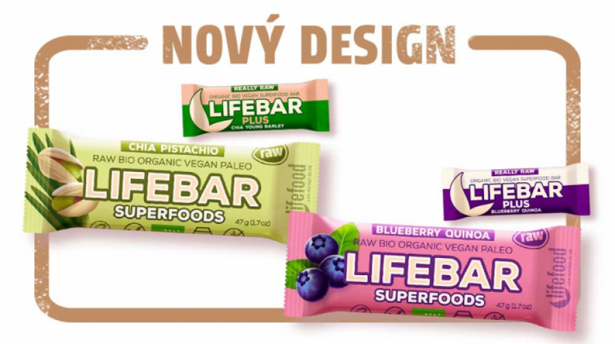 Lifebar Plus se mění na Lifebar Superfoods
