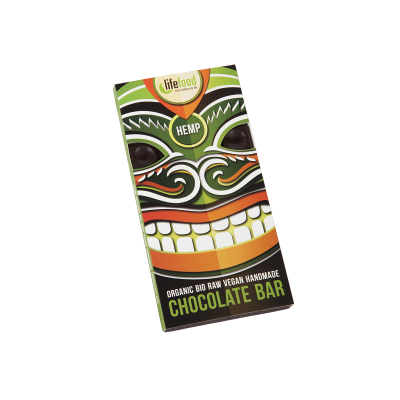 Lifefood čokoláda s konopným semínkem BIO RAW 70 g
