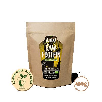 Protein se superfoods / vanilkový s mladým ječmenem a macou BIO RAW 450 g
