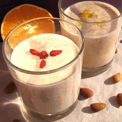 Mandlové mléko s mesquitem pro dobrou pohodu