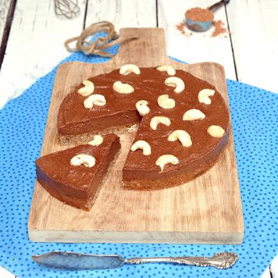 Kakaovo-vanilkový dort s lucumou