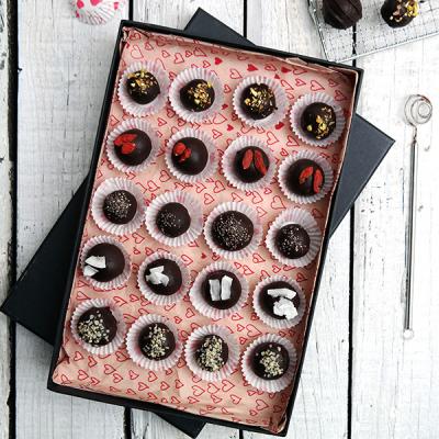 Rozplývající se čokoládové truffles