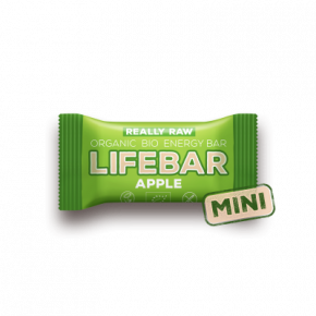 MINI Lifebar jablečná BIO RAW