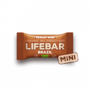 MINI Lifebar brazilská BIO RAW