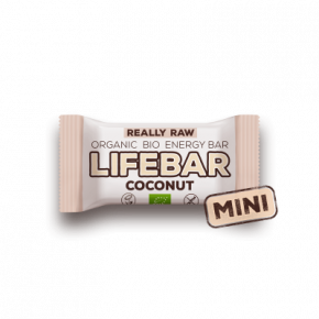 MINI Lifebar kokosová BIO RAW