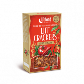 LIFE CRACKERS Mexické BIO RAW