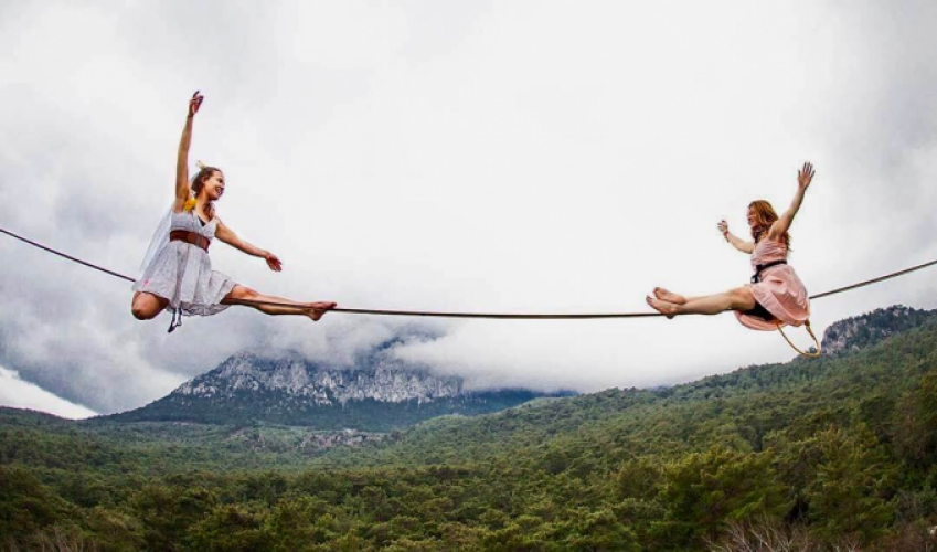 Is slackline a therapy for life? Yes, says Tereza Panochová