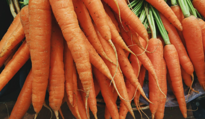 Superfood carrot
