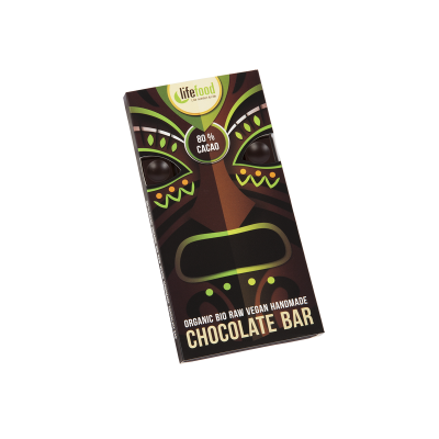Raw Organic 80 % Cacao Chocolate 70g