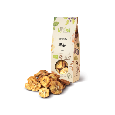 Raw Organic Dried Bananas