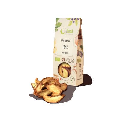 Raw Organic Pear Slices