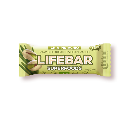 Raw Organic Lifebar Superfoods Chia Young Barley