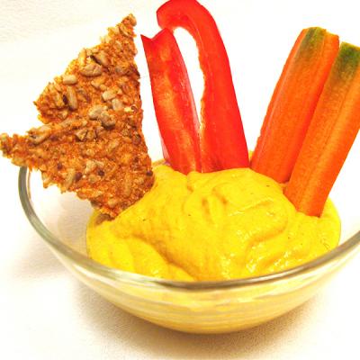 Macadamia Saffron Dip
