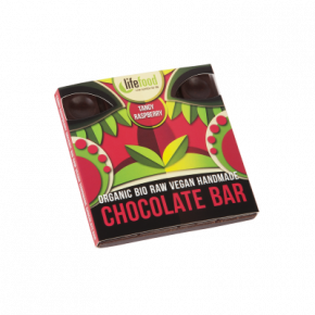 Raw Organic Tangy Raspberry Chocolate 35g