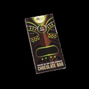 Raw Organic 80 % Cacao Chocolate 70g