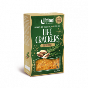 Raw Organic Rosemary Life Crackers