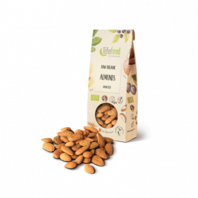 Raw Organic Almonds with Skin