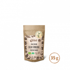 Raw Organic Cacao Spirulina Protein Superfood Powder 35 g