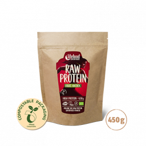 Raw Organic Fruit Antiox Protein Superfood Powder 450 g