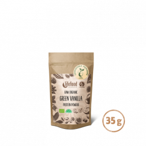 Raw Organic Green Vanilla Protein Superfood Powder 35 g