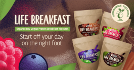 Breakfast full of life and ready in one minute
