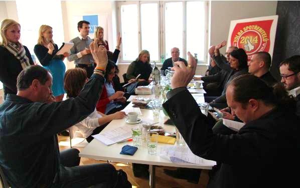 Hlasování odborné poroty ve Volbě spotřebitelů 2014