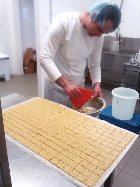 raw organic handmade production