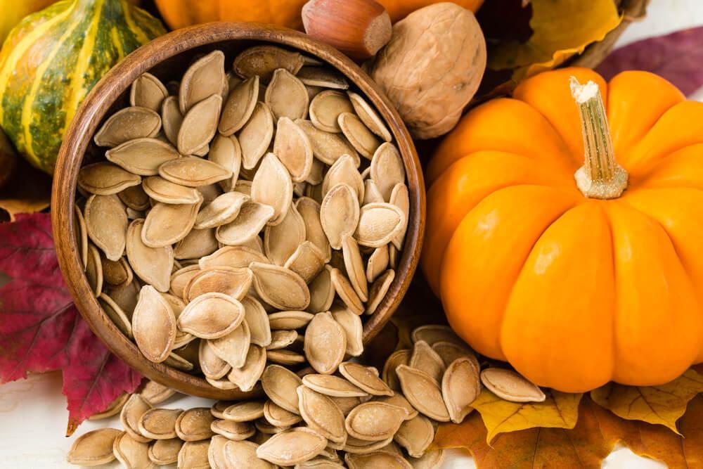 Dýňová semínka jsou nejen krásná ale i výživná