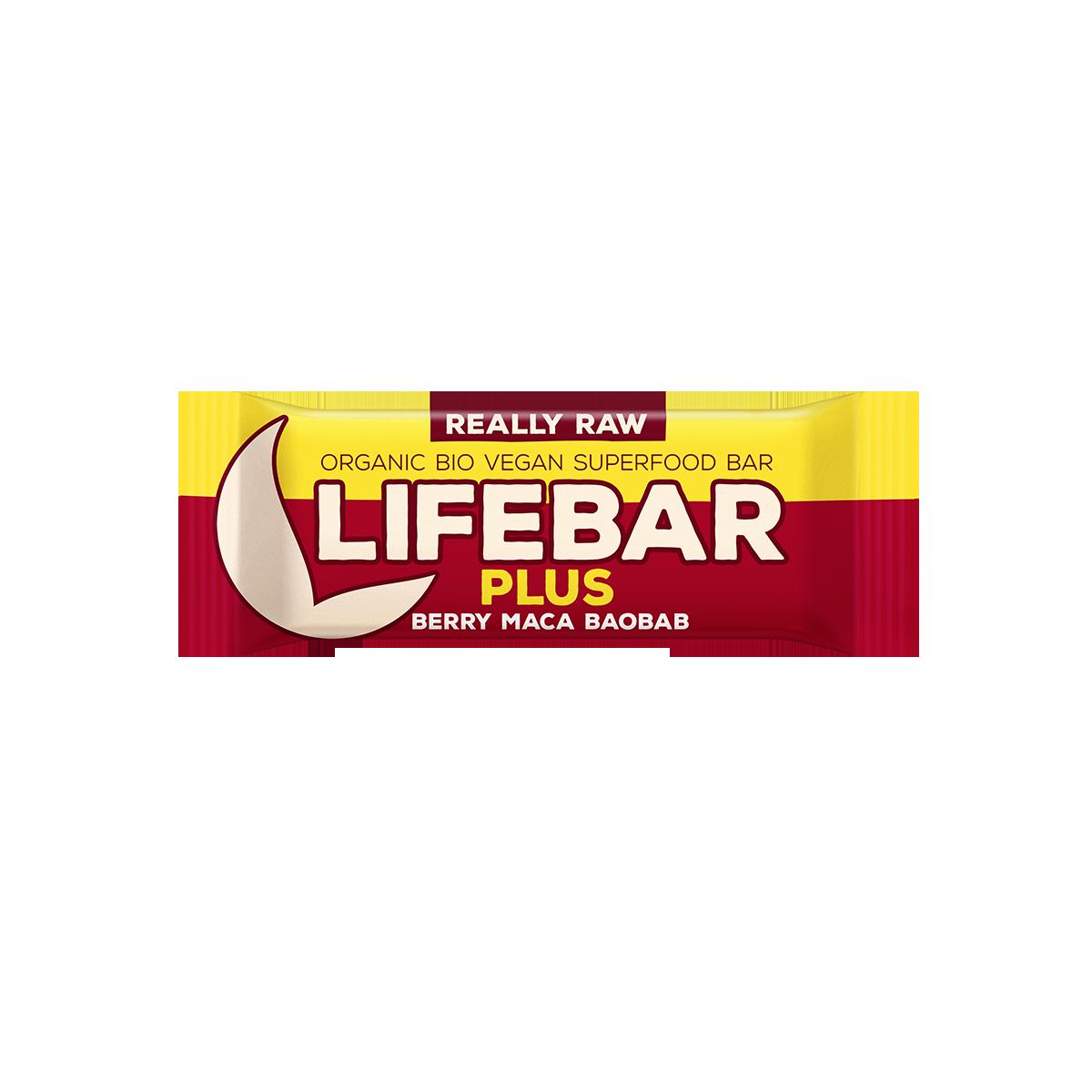 Lifebar s baobabem BIO RAW