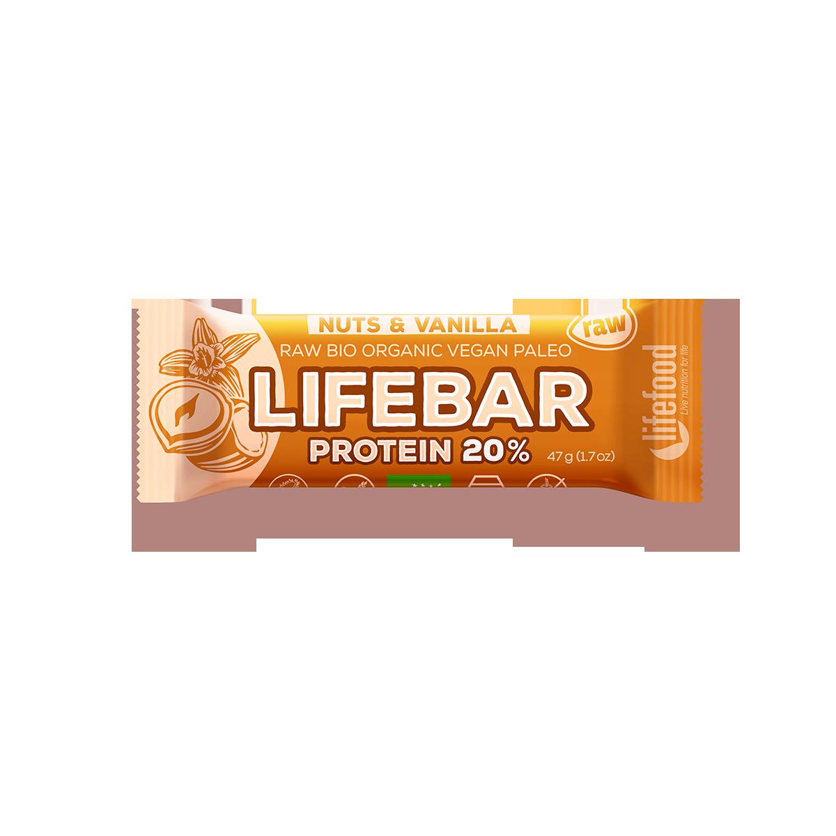 Lifebar protein oříšková