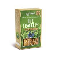 Raw Organic Sauerkraut Chia Life Crackers