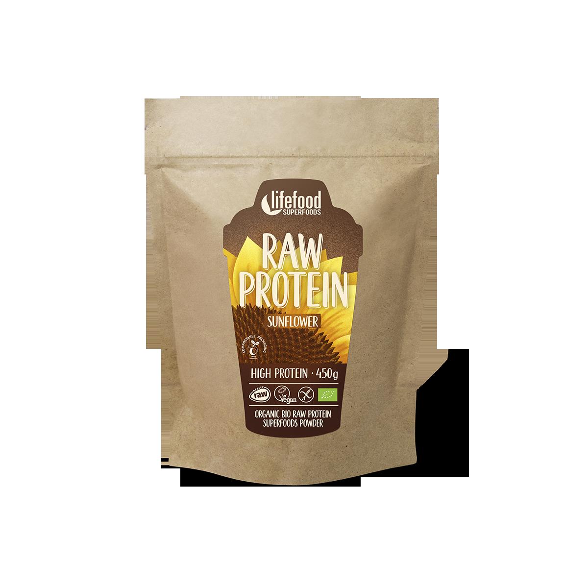 Dýňový protein BIO RAW Lifefood