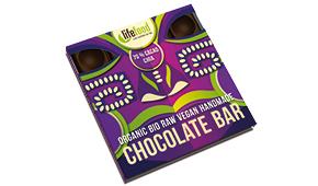 Lifefood raw čokoláda střední s chia