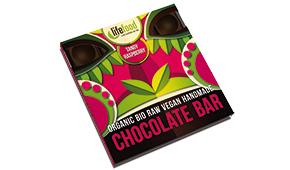 Lifefood raw čokoláda střední malinová