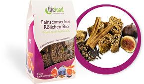 Lněné sušenky raw bio