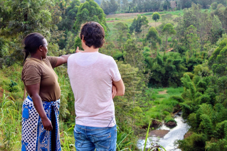 Makadamová farma v Keni