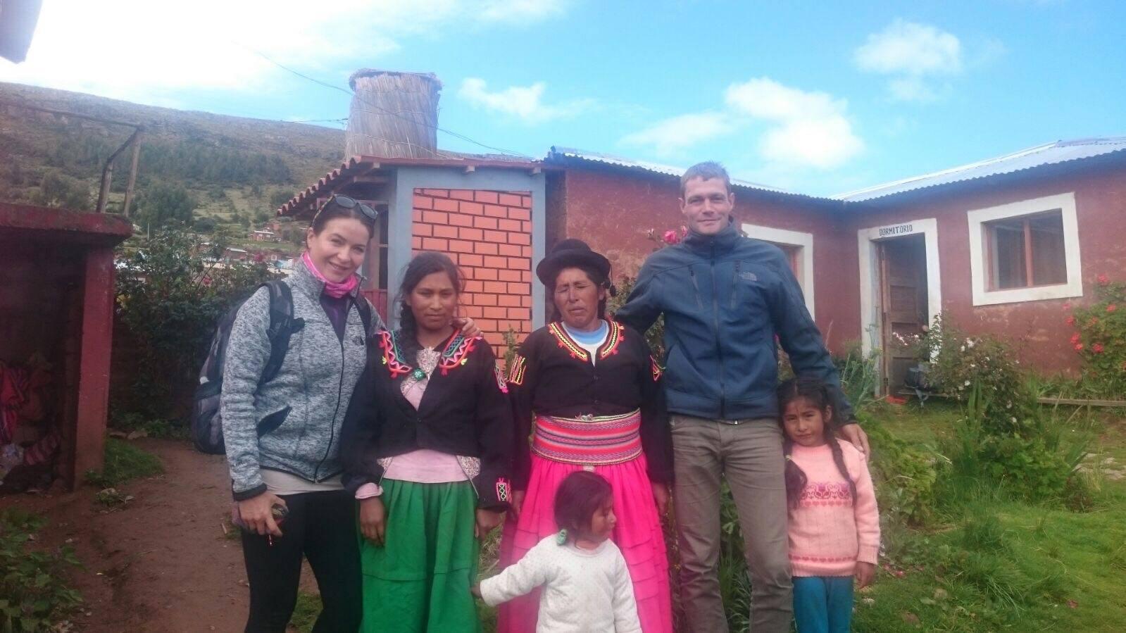 Tereza in Peru