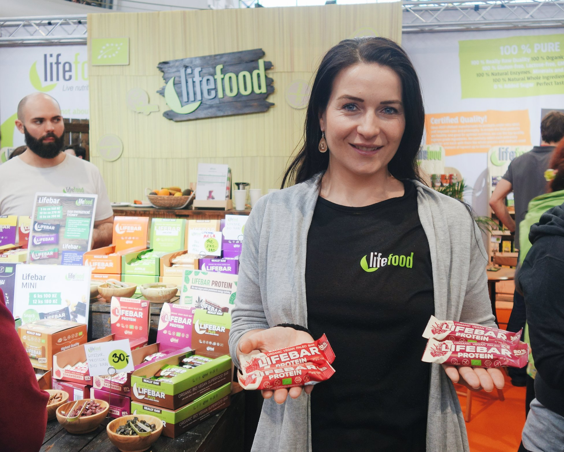 Tereza with Lifebars