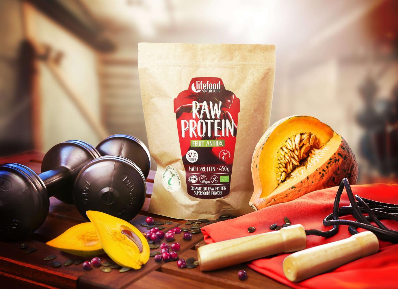 Raw veganské proteiny se superfoods od Lifefoodu