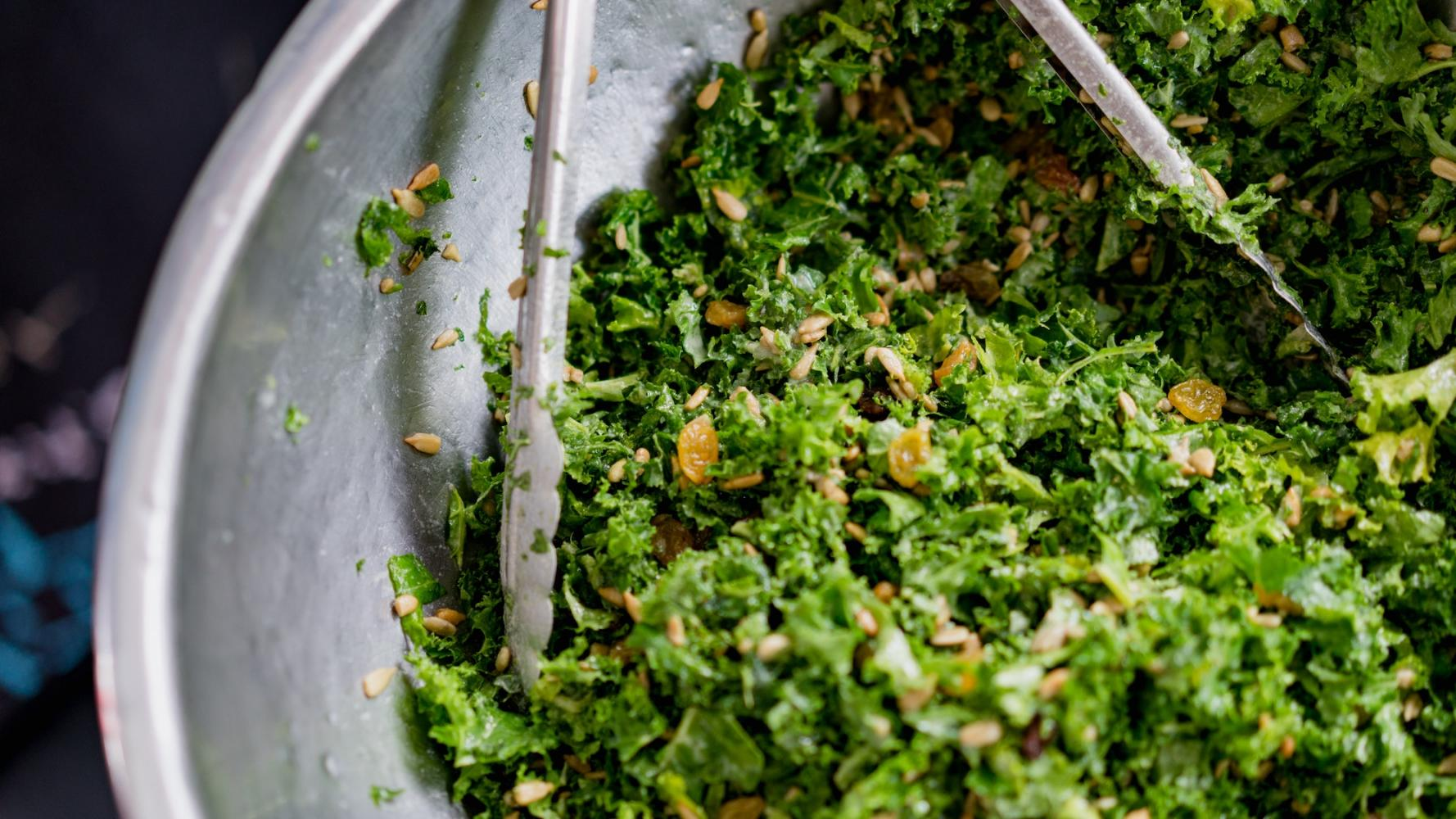 Kale - the sweet winter vegetable