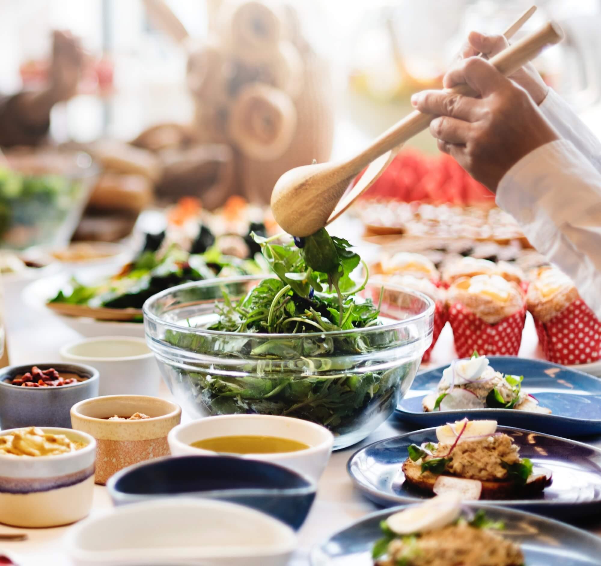 Zdravé čerstvé jídlo je základ