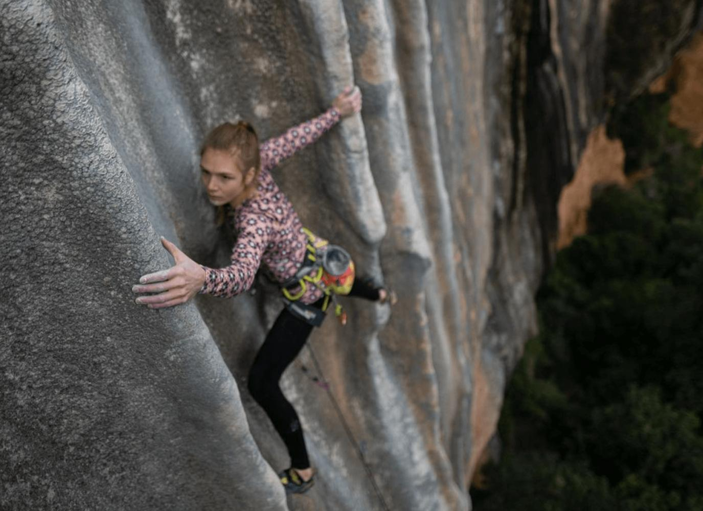 Eliška Adamovská pic @climberbehindlens