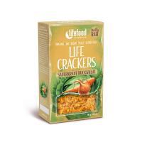 Buckweheat sauerkraut crackers