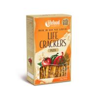 Raw Organic Pizza Life Crackers