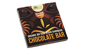 Lifefood raw chocolate 95 percent cacao cinnamon