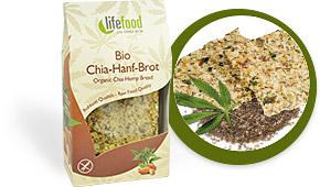 Chia Hemp Bread Raw Organic